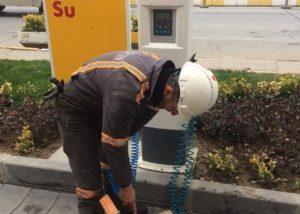 İstasyonların Vazgeçilmesi Hava Su Saati