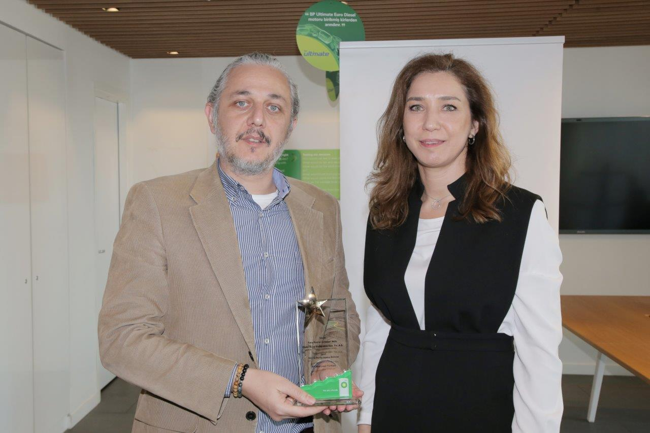 BP SEÇ Performans Ödülü Tora Petrol'e