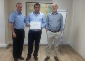 Gilbarco'dan Tora Petrol'e üstün Başarı ödülü