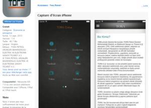 IOS Cihazlarda uygulamamız yayında