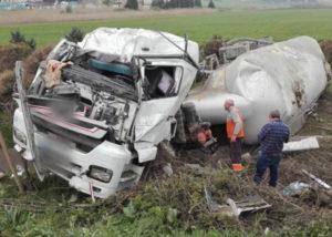 Karayollarında Tanker Kazaları ve Cevresel Boyutları