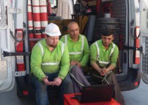 Tora Petrol Bursa Bakım ekibi