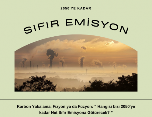 """Karbon Yakalama, Fizyon ya da Füzyon: """"Hangisi bizi 2050'ye Kadar Net Sıfır Emisyona Götürecek?"""""""