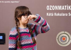 Ozonmatik ile kötü kokuya son