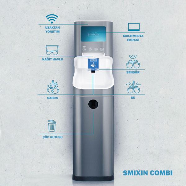 Smixin akıllı el yıkama sistemleri