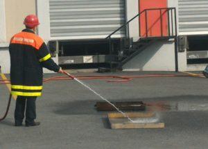 Tora Petrol yangın eğitimi