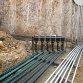 Upp altyapı borulama ekipmanları