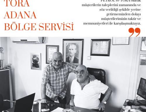 TORA Bölge Servisleri Tanıtım Dizisi: ÜLKER Tora Adana Bölge Servisi