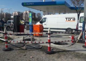 Tora Petrol ALPET akaryakıt istasyonlarında 400 tank temizliği yaptı