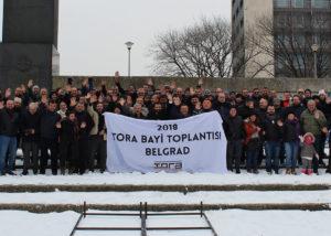Tora Petrol bayi toplantısı için Belgrad'da