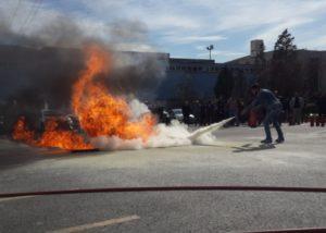 Yangın eğitimi 2018 Tora SEÇ Haftası